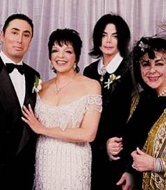 Liza Minelli, Michael Jackson, Elizabeth Taylor